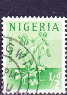 Nigeria - Erdnuss (Arachis Hypogaea) (MiNr: 92) 1961 - Gest Used Obl - Nigeria (1961-...)