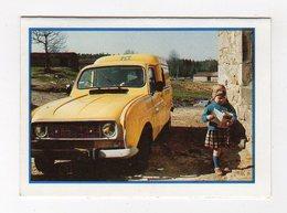Jan19   84045     Petit Calendrier   Auto    RENAULT 4   DU FACTEUR - Kalender