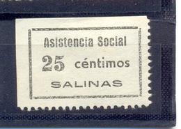 """Salinas """" Asistencia Social """" 1188 Gómez Guillamón - Emisiones Repúblicanas"""