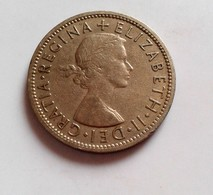 GRANDE BRETAGNE - TWO SHILLINGS 1957 ELIZABETH II  (B7 - 32) - 1902-1971 : Monnaies Post-Victoriennes