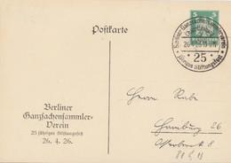 DR Privat-GS Minr.PP81 C13 SST Charlottenburg 26.4.26 - Deutschland