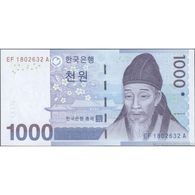 TWN - SOUTH KOREA 54a - 1000 1.000 Won 2007 EF XXXXXXX A UNC - Korea, South