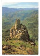Saint Martin De Valamas (07) Les Ruines Du Chateau De Rochebonne  ( Paysages Du Haut Vivarais ) - Saint Martin De Valamas
