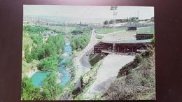 Armenia. Yerevan. Hrazdan Stadium - STADE. OLD USSR PC. 1980 DMPK - Stationery Postcard - Stades