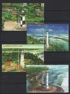 Sri Lanka (2018) - 4 Blocks -  /  Leuchtturm - Faro - Phares - Lighthouses - Vuurtorens