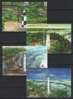 Sri Lanka (2018) - 4 Blocks -  /  Expo Gold Overprint - Leuchtturm - Faro - Phares - Lighthouses - Phares