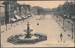 BORDEAUX - Les Allées De Tourny En Arriére-plan Le Grand Theátre - Bordeaux