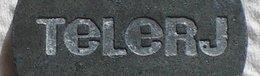 Brasil Telephone Token  TELERJ Telecomunicações Do Rio De Janeiro  J Dot Below - Noodgeld