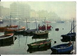 50   CHERBOURG   Le Port Au Petit Matin    Cpm Voyagée En 1974 - Cherbourg