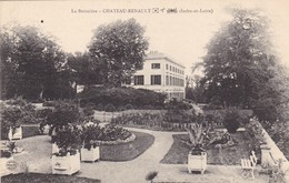 37. CHATEAU RENAULT. CPA . LA BOISNIERE - France