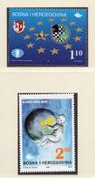 1999 - BOSNIA ERZEGOVINA - Mi.  Nr. 181+184 - NH - (UP121.27) - Bosnia Erzegovina