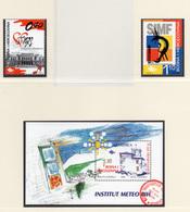 1999 - BOSNIA ERZEGOVINA - Mi.  Nr. 186/187 + BF7 - NH - (UP121.27) - Bosnia Erzegovina