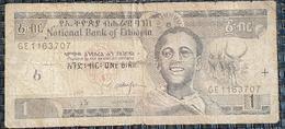 Ethiopia 1 Birr, 1998/2008 - Ethiopia