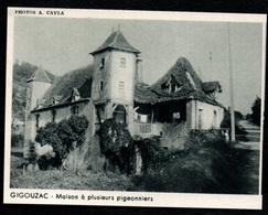1953  --  GIGOUZAC LOT  MAISON A PLUSIEURS PIGEONNIERS   3Q636 - Alte Papiere