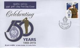Sri Lanka (2016) - FDC -  /  Polizei - Police - Policia - Police - Gendarmerie