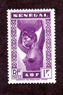 Sénégal N°147a  N** LUXE Et Signé Cote 360 Euros !!!RARE - Sénégal (1887-1944)