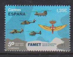 Spain (2018) - Set - /  Flugzeug - Helicopter - Military - Army - Soldier - Helicopters