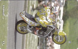 Isle Of Man, MAN 157, TT Racers 2000, Ramsey Sprint, 2 Scans . Mint, Card Number 0402 - Isle Of Man