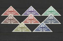 Jordan 1964 Olympic Games Tokyo Set Of 8 Imperf. MNH - Summer 1964: Tokyo