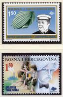 2000 - BOSNIA ERZEGOVINA - Mi.  Nr. 207+210 - NH - (UP121.27) - Bosnia Erzegovina