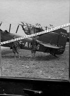 2 CARTE PHOTOS / AVION POTEZ 25 A2 / N°91 / F-AOTG / AMBÉRIEU EN BUGEY ??? PHOTO - Aviation