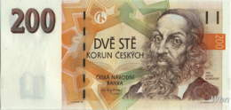 Tchéquie 200 Korun (P19) 1998 -UNC- - Czech Republic