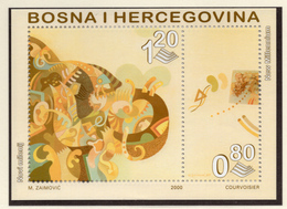 2000 - BOSNIA ERZEGOVINA - Mi.  Nr. BF 10 - NH - (UP121.28) - Bosnia Erzegovina