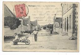 BOULAGES 1906 Rue De Châlons AUBE En Champagne Prè Anglure Méry Romilly Nogent Sur Seine Troyes Brienne Le Château Arcis - Autres Communes