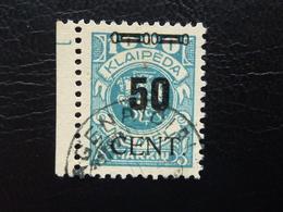 Memel 191 Gestempelt Geprüft  (350) - Memel (Klaïpeda)