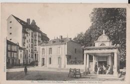 BOURBONNE LES BAINS   -  FONTAINE CHAUDE ET HOTEL DU PARC - Bourbonne Les Bains