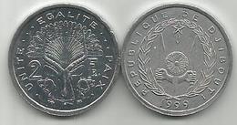 Djibouti 2 Francs 1999. High Grade - Djibouti