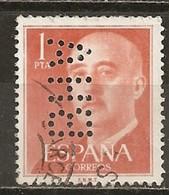 LOTE 1827  ///  (C036)    ESPAÑA  CON PERFORACION COMERCIAL - 1931-Hoy: 2ª República - ... Juan Carlos I