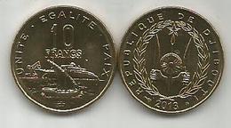 Djibouti 10 Francs 2013. High Grade - Dschibuti