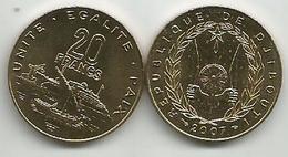 Djibouti 20 Francs 2007. High Grade - Djibouti