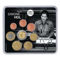 """France 2018 : Miniset """"Simone Veil"""" (8 Pièces BU En Blister) - DISPONIBLE Immédiatement - France"""