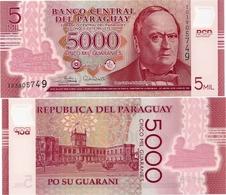 PARAGUAY       5000 Guaraníes      P-234[c]        2017 (2018)       UNC - Paraguay
