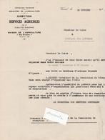 Ravitaillement 1939 /Organisation Foire Bestiaux Animaux EVACUES D' Alsace / Commission Réception St Loup Sur Semouse 70 - 1939-45