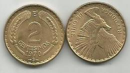Chile 2 Centesimos 1970. High Grade - Chile