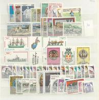 1980 MNH Italia,  Year Collection Complete Postfris** - 1946-.. République