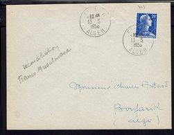 ALGERIE - 20 F Marianne Sur Enveloppe Du 13 Mai 58 - Evènement - Fraternisation Franco-Musulmane - Réconciliation - B/TB - Algérie (1924-1962)