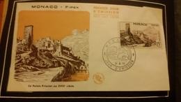 1°  Jour.d'émission..FDC ..MONACO FIPEX 1956.. Le Palais  Princier - Joint Issues