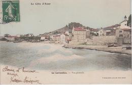 CPA Précurseur Le Lavandou - Vue Générale - Le Lavandou