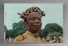 PC 1960ys ANGOLA BLACK NATIVE TRADITIONAL AUTHORITY DEMBOS AFRICA AFRIKA AFRIQUE - Angola