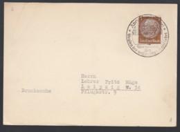Deutsches Reich Postkarte Sonderstempel 1934 Angerburg Ostpreussen Nach Leipzig Lot 604D - Deutschland