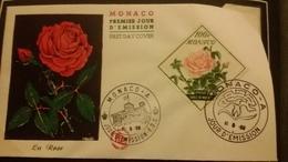 1°  Jour.d'émission..FDC ..MONACO .. 1959... LA  ROSE - Joint Issues