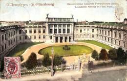 Russia - St Petersbourg - L'Academie Militaire De L'Etat Major (1909) - Russia
