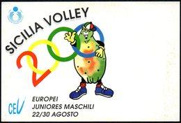 VOLLEYBALL - ITALIA CAMPIONATI EUROPEI PALLAVOLO JUNIORES MASCHILI 2000 - SICILIA VOLLEY - NUOVA - Volleyball