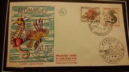 1°  Jour.d'émission..FDC ..MONACO .. 1960...  FAUNE  AQUATIQUE - Joint Issues