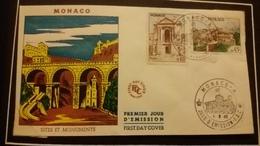 1°  Jour.d'émission..FDC ..MONACO .. 1960... SITES  ET  MONUMENTS - Joint Issues