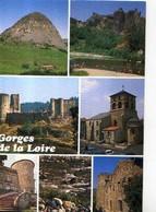 43 GORGES DE LA LOIRE Gerbier De Jonc Arlempdes Bas En Basset Roche Baron Eglise Retournac Chateau Monistrol Aurec - France